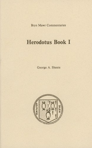 9780929524139: Herodotus Book I (Bryn Mawr Commentaries) (Greek Edition)