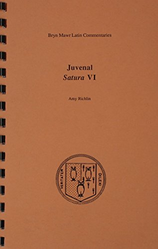 9780929524429: Satura VI (Bryn Mawr Commentaries, Latin) (Latin and English Edition)