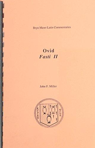 9780929524467: Fasti: Book 2 (Ovid Fasti)
