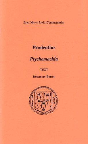 9780929524610: Psychomachia (Bryn Mawr Commentaries, Latin)