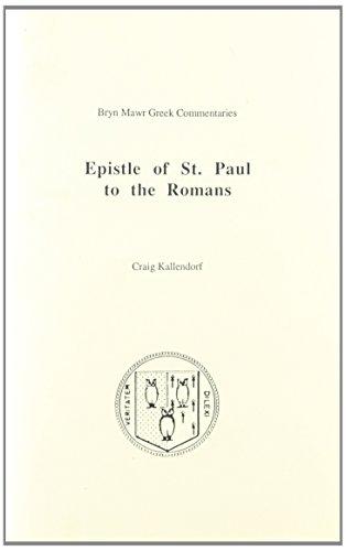 9780929524702: Paul, Epistle to the Romans