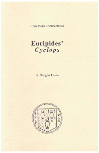 9780929524917: Cyclops (Bryn Mawr Commentaries, Greek)