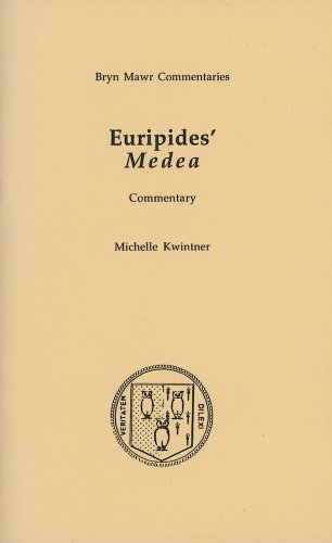 9780929524924: Medea (Bryn Mawr Commentaries, Greek)