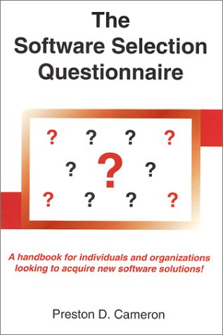 9780929526850: The Software Selection Questionnaire