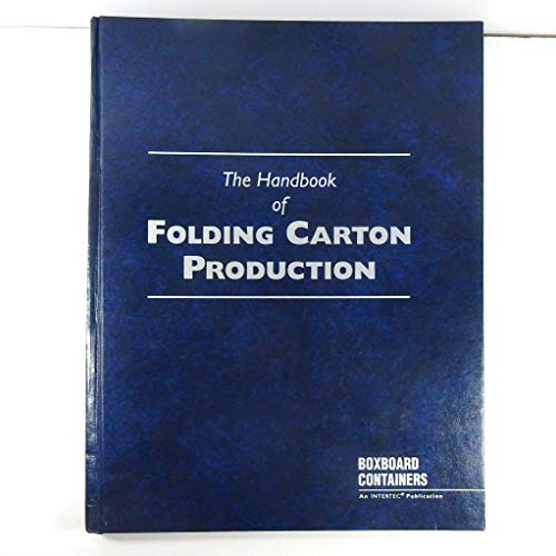 9780929531311: Handbook of Folding Carton Production
