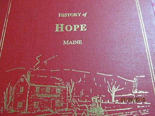 9780929539263: History of Hope, Maine
