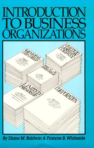 9780929563527: Introduction to Business Organizations (2nd Edition)
