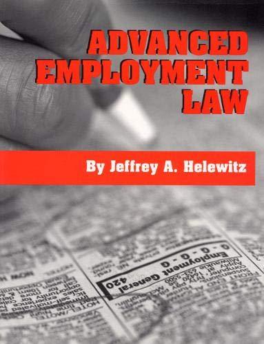 9780929563602: Advanced Employment Law
