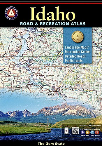 9780929591063: Idaho Benchmark Road & Recreation Atlas