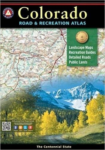 9780929591124: Benchmark Colorado Road & Recreation Atlas