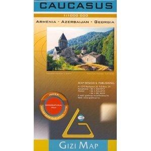 9780929591247: Caucasus, Armenia-Azerbaijan-Georgia: 1:1 000 000