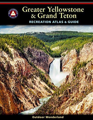9780929591308: Greater Yellowstone & Grand Teton Recreation Atlas & Guide