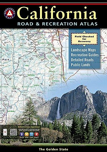 9780929591490: Benchmark California Road & Recreation Atlas 2012