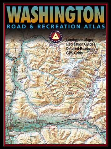 9780929591537: Benchmark Washington Road & Recreation Atlas