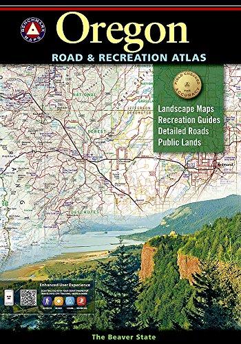 9780929591629: Oregon Benchmark Road & Recreation Atlas
