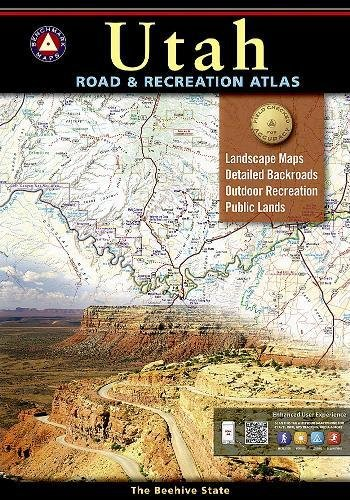 9780929591735: Benchmark Maps Utah Road & Recreation Atlas