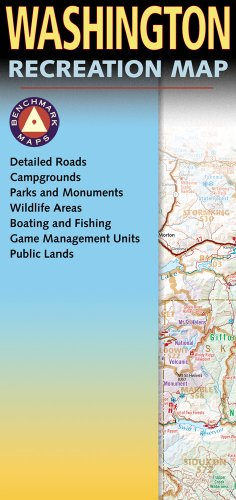 9780929591865: Washington Recreation Map (Benchmark Maps)