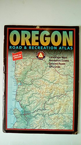 9780929591889: Benchmark Oregon: Road & Recreation Atlas - Third Edition (Benchmark Map: Oregon Road & Recreation Atlas)
