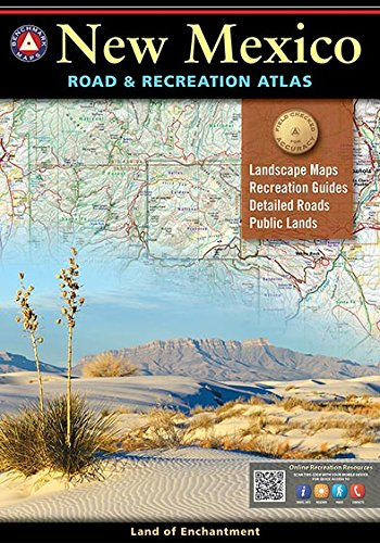 9780929591896: New Mexico Benchmark Road & Recreation Atlas