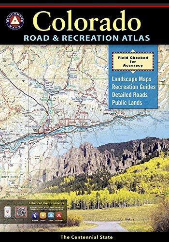 9780929591919: Benchmark Colorado Road & Recreation Atlas, 3rd Edition: State Recreation Atlases (Benchmark Atlas)