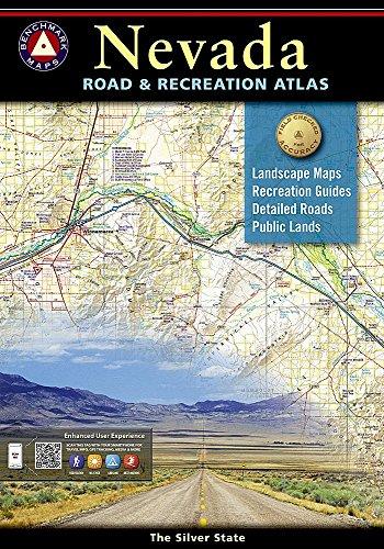 9780929591926: Benchmark Road & Recreation Atlas Nevada