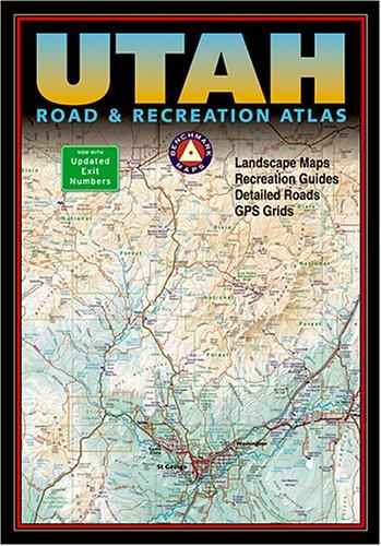 9780929591933: Benchmark Utah Road & Recreation Atlas - Third edition (Benchmark Map: Utah Road & Recreation Atlas)
