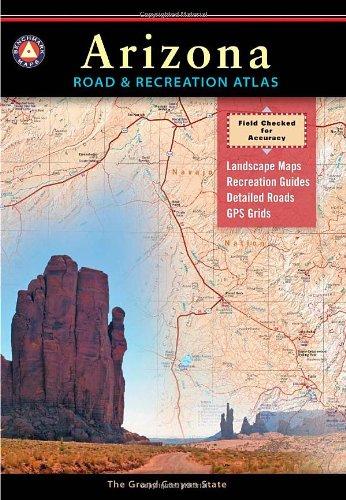 9780929591971: Benchmark Arizona Road & Recreation Atlas