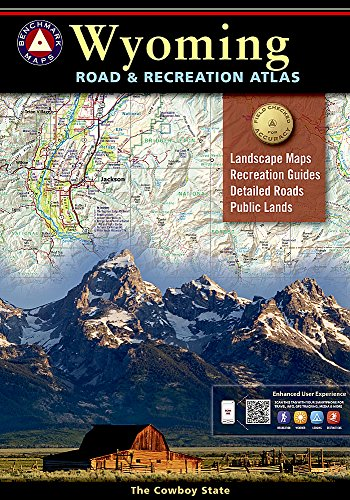 Wyoming Benchmark Road & Recreation Atlas: National Geographic Maps