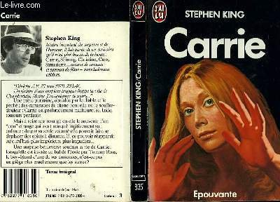 9780929631554: Carrie: Extract (Writers Voices Ser)