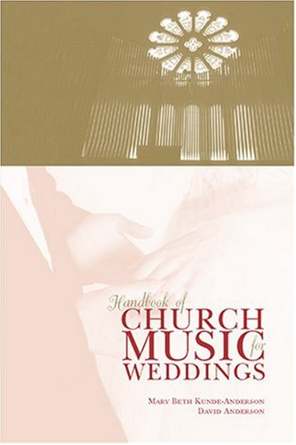 9780929650449: Handbook of Church Music for Weddings