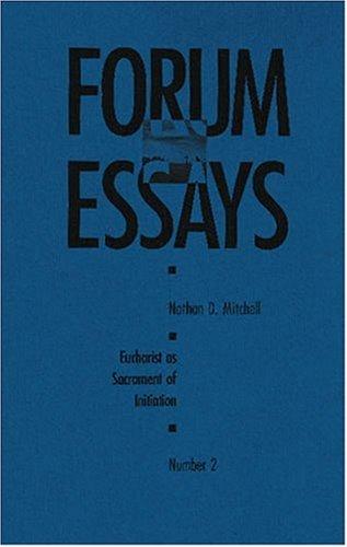 9780929650814: Eucharist as Sacrament of Initiation: Forum Essay #2 (Forum Essays, No 2)