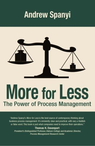 9780929652030: More for Less: The Power of Process Management