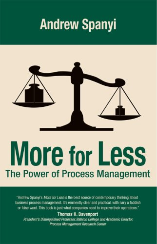 9780929652085: More for Less: The Power of Process Management
