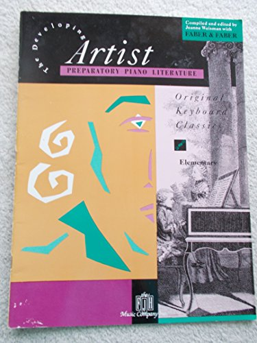 9780929666303: The Developing Artist: Preparatory Piano Literature