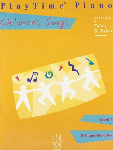 9780929666419: PlayTime Piano Children's Songs