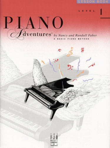 9780929666594: Piano Adventures: Level 1 Lesson Book