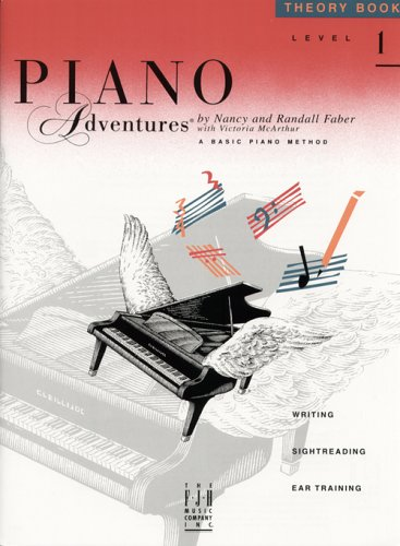 9780929666600: Piano Adventures: Theory Book Level 1 (Piano Adventures Library)