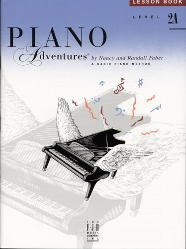 9780929666624: Piano Adventures Lesson Book Level 2A: A Basic Piano Method