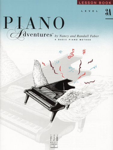 9780929666693: Faber Piano Adventures Level 3A: Lesson Book