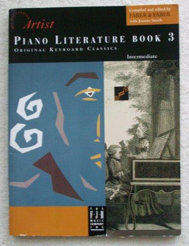 Piano Literature, Book 3 Intermediate (The Developing: Nancy & Randall