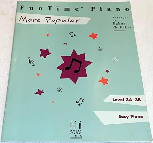 9780929666747: FunTime Piano More Popular
