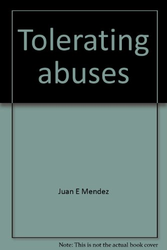 9780929692050: Tolerating abuses: Violations of human rights in Peru (An Americas Watch report)
