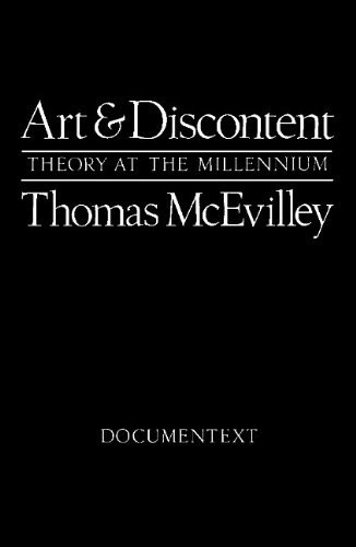 9780929701134: Art and Discontent: Theory at the Millennium