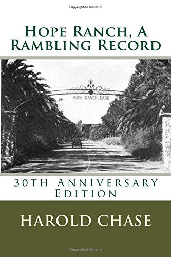 9780929702056: Hope Ranch: A Rambling Record