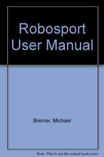 9780929750316: RoboSport User Manual Macintosh Version
