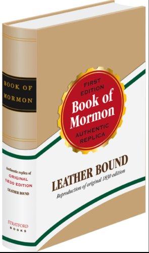 9780929753201: Book of Mormon: 1830 Replica Edition