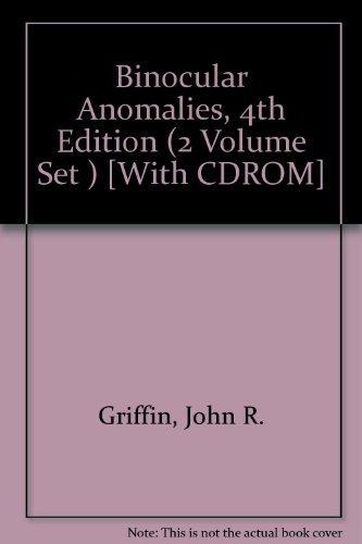 9780929780160: Binocular Anomalies (2 volume set w/CDrom)