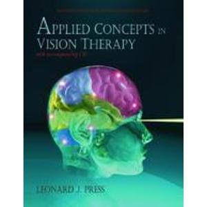 9780929780184: Applied Concepts of Vision Therapy (W/CD) - Oep Edition