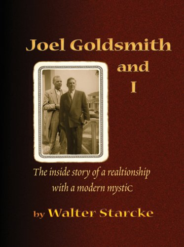 Joel Goldsmith and I (0929845080) by Walter Starcke