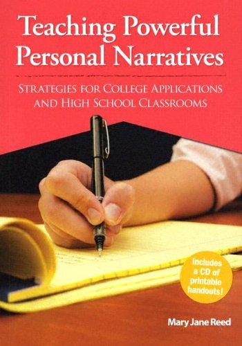 9780929895789: Teaching Powerful Personal Narratives: Strategies for College Applications and High School Classrooms (Maupin House)